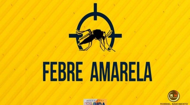 Prevenção – Prefeitura promove Dia D da campanha contra febre amarela neste sábado